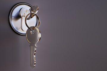 Schließsystem, mechanisch, Schlüssel + Schloss